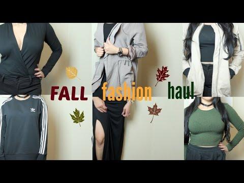 FALL FASHION HAUL (TRY-ON) | FOREVER21 FASHION NOVA PACSUN LOVE CULTURE