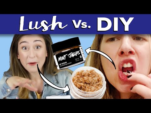 Thumbnail: DIY Lip Scrub Vs. Lush Lip Scrub