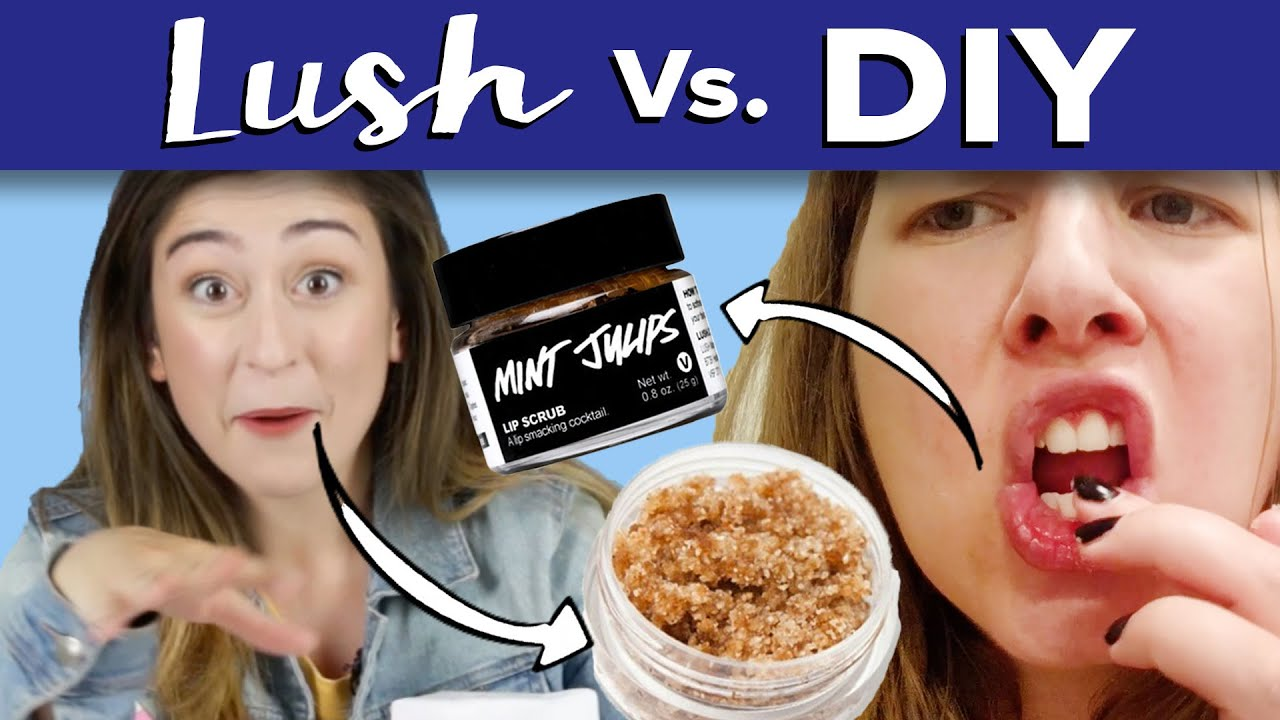 how to make your own lip scrub like lush