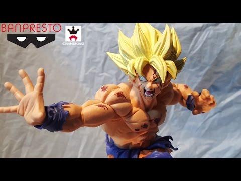 Banpresto Dragon ball Zoukei Tenkaichi Budokai Figure SCultures Big 6 SS3 Goku