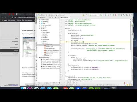 07. Build the app for play store publish | RocketWeb