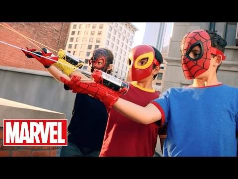 Marvel Toys – 'Ultimate Spider-Man Color Shock Slingers & Masks' T.V. Spot – Hasbro