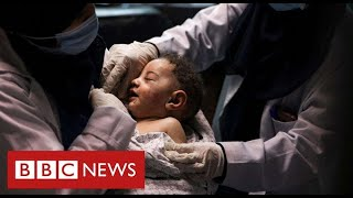 Eight young cousins killed by Israeli air strikes in Gaza as family celebrated Eid - BBC News