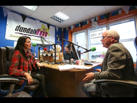 Dundalk 97.7 FM Takeover Tracey Hanby Gray interview Paul Cox 22.10.2016