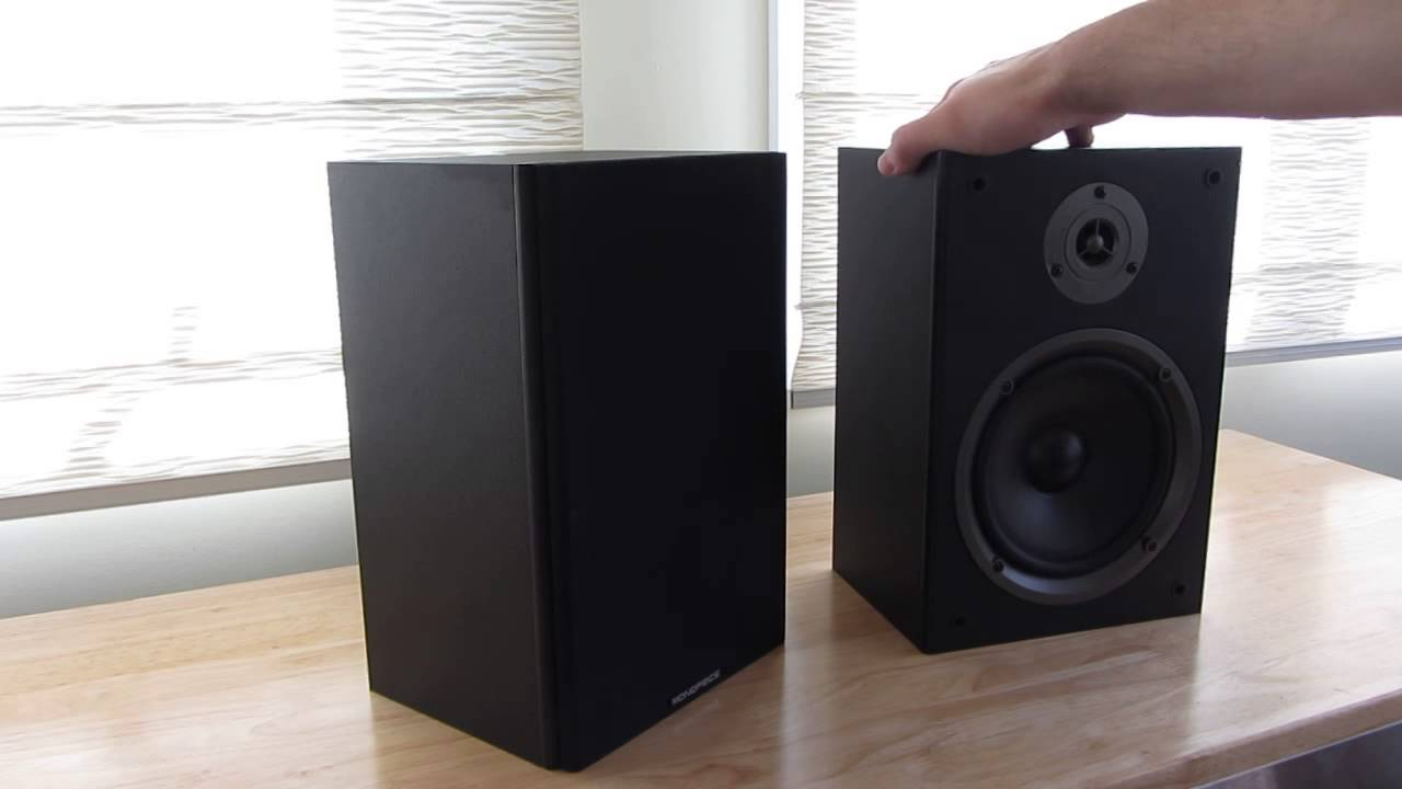 monoprice # 8250 bookshelf speaker review. - youtube