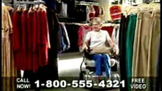 Hoveround commercial (or, Obnoxious = Funny)