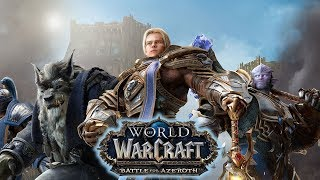 World of Warcraft: Battle for Azeroth ( WOW ) стрим #1 . Прокачка pve monk с 1-120 уровня
