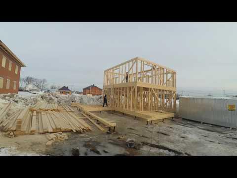 строительство каркасного дома в Уфе