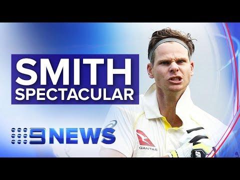 Steve Smith Century Puts Australia Closer To Ashes Test Win | Nine News Australia