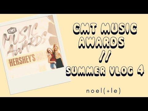 CMT AWARDS & CMA FEST // Summer Vlog #4