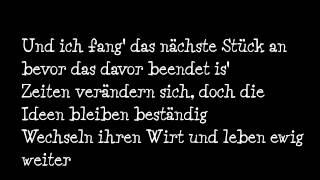 Kool Savas - Nie mehr gehn [Lyrics]