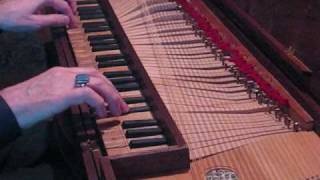 Ryan Layne Whitney (Bach: Invention No. 5 in E-flat major, on clavichord)