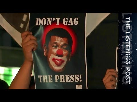 Duterte vs Rappler: Media on notice in the Philippines - The Listening Post (Full)