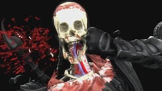 Mortal Kombat 9 Komplete Edition - All Costumes / Skins *All X Ray Moves/X Rays* (1080p 60FPS)