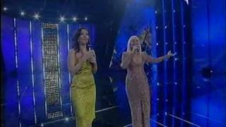 Raffaella Carrà e Sabrina Ferilli - E Salutala Per Me