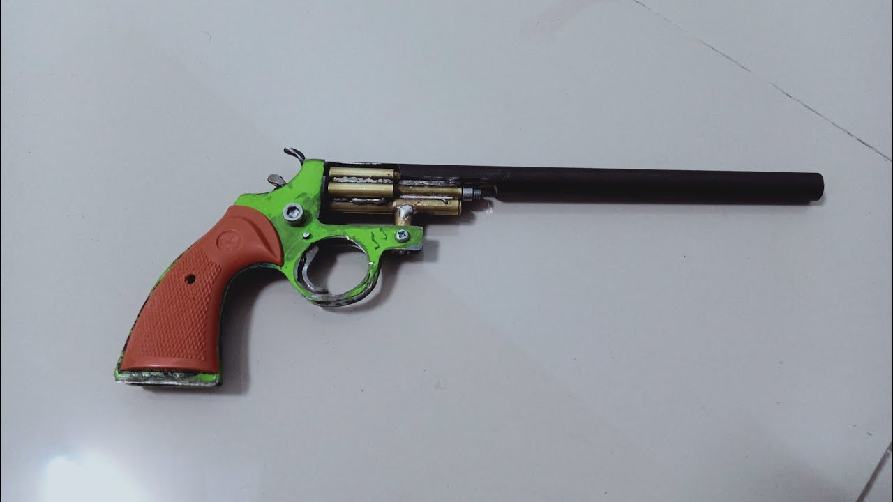 ปืนอัดเทียนลูกโม่6นัด ver.2