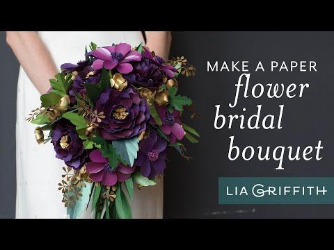 How to Arrange a Paper Flower Bouquet