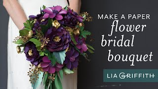 How to Arrange a Paper Floral Bouquet