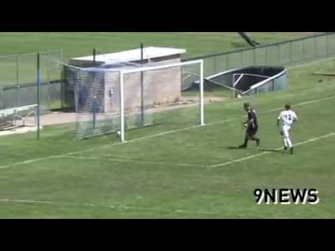 Columbine High School striker goal - YouTube - Columbine High School Football