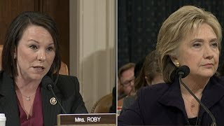 Hillary Clinton testifies on American presence in Benghazi