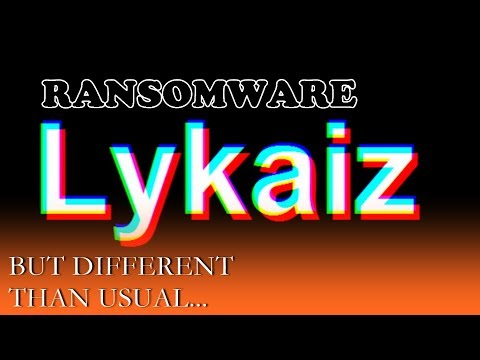 This Ransomware Is A Bit Different... | FMV #74