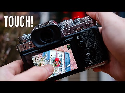 Fujifilm X-T3 Review of Touch Screen