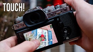 Fujifilm X-T3 Touch Screen Explained