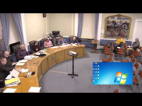 City of Plattsburgh, NY Meeting  1-9-20