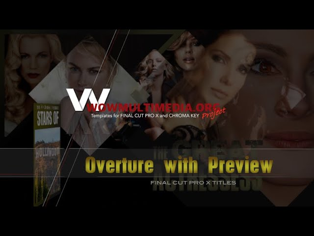 WM Overture with Preview - FCPX Titles