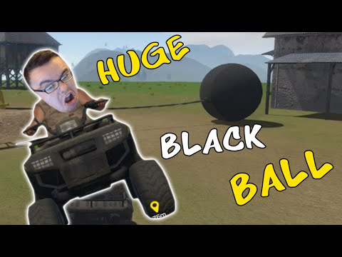 Guts And Glory   HUGE BLACK BALL ATTACKS ME  