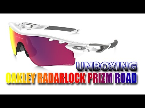 OAKLEY RadarLock Prizm Road (Path vented) - Unboxing & overview ((PT))