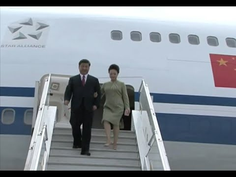 Chinese President Arrives for State Visit to South Africa