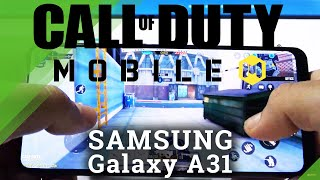 Call Of Duty sur SAMSUNG Galaxy A31 - Revue de jeu Android
