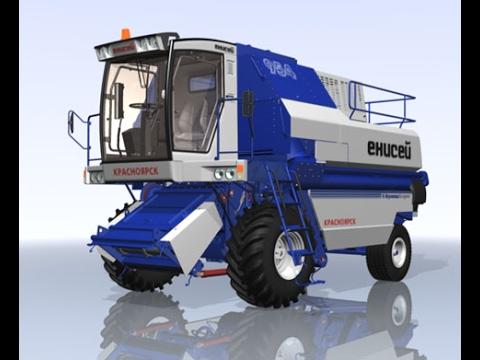 Комбайн Енисей 954 / Combine Harvester Yenisei 954