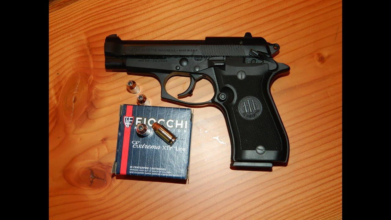 Shooting the  380 Beretta 85F