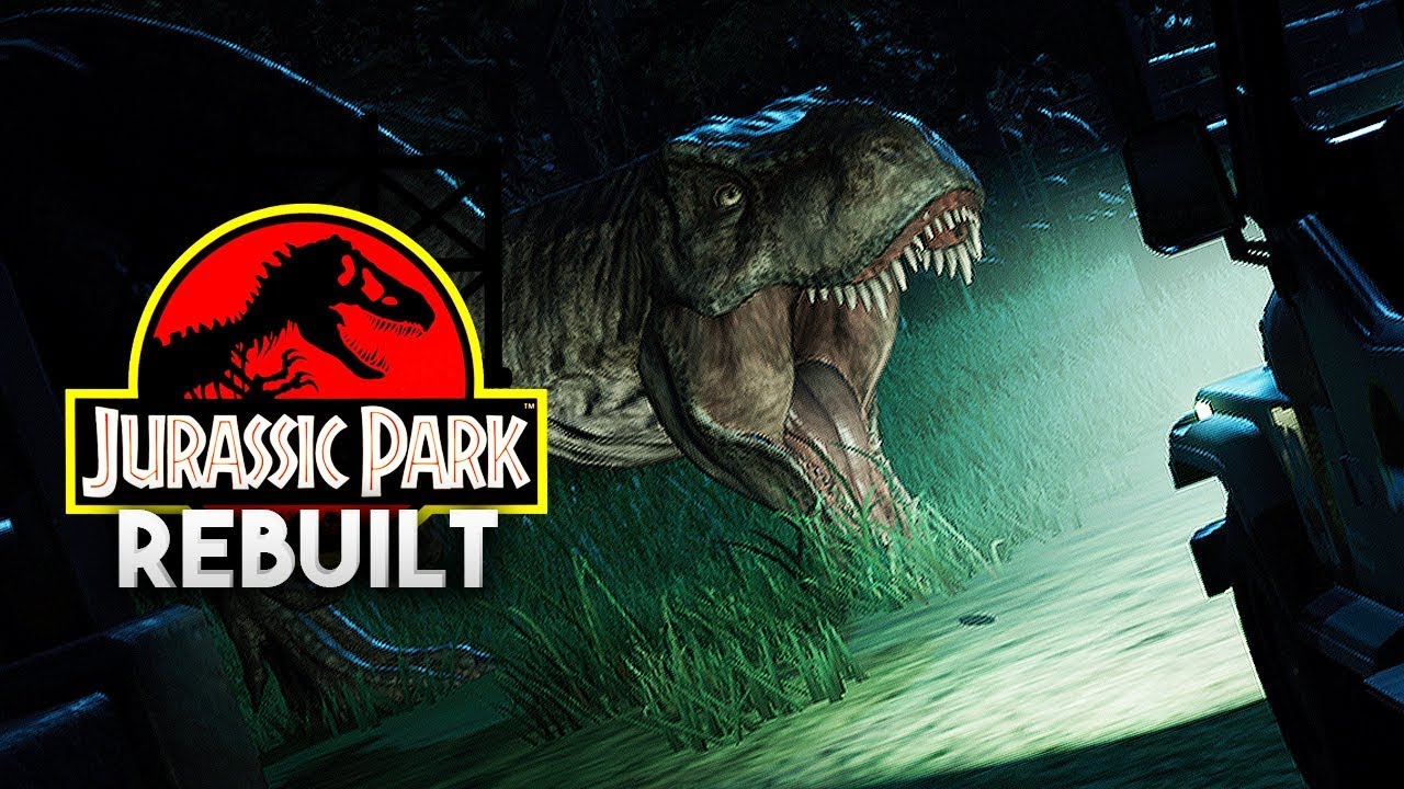 THE T.REX PADDOCK | Jurassic Park 1993 Rebuilt (Jurassic World: Evolution)