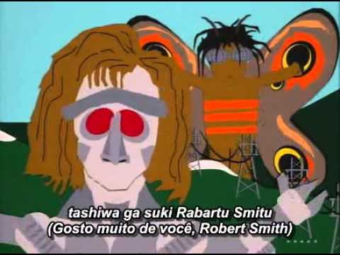 Robert Smith (The Cure) in episode of South Park