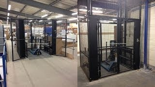 Goods Lift, Self Supporting Lift Shaft, Pit Installed, Hydraulic Goods Lift, Bespoke Goods Lifts, Uk