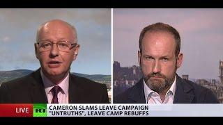 Bremain or Brexit: Campaign for positive future vs. campaign of fear