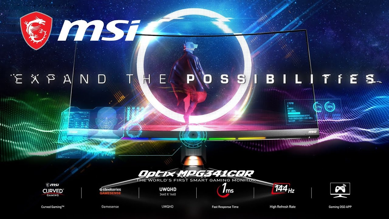 MPG341CQR – Expand the Possibilities | Gaming Monitor | MSI