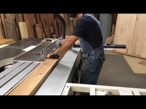 Sliding Table Saw Superiority: Straight Line Cutting Into Parallel Ripping.