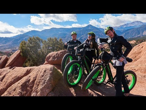 The BEST WAY to see Garden of the Gods! (Electric Bike Tour)