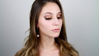 Glitter Party Makeup Tutorial + Tom Ford Cognac Sable