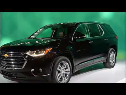 2018 Chevy Traverse New Design, New Features-Autocars Addict
