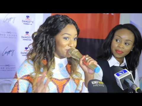 Cuppy Takes Africa 2015 Tour Press Conference
