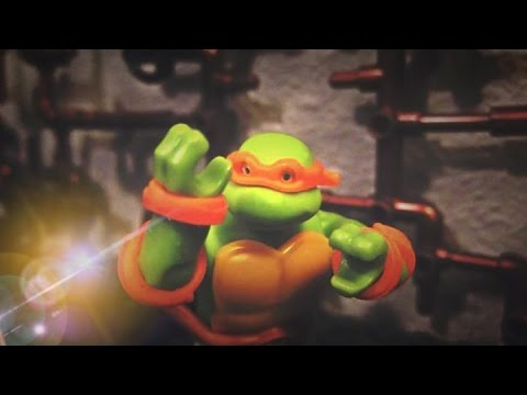 MEGA BLOKS ANIMATION Teenage Mutant Ninja Turtles~Ep 2