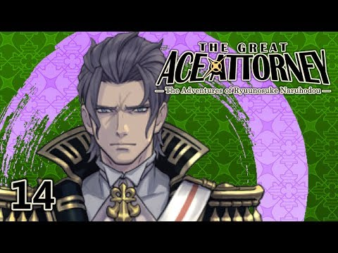 THE GRIM REAPER - Let's Play - The Great Ace Attorney (DGS) - 14 - Walkthrough And Playthrough