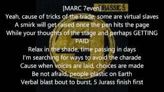 Jurassic5 - Jurass Finish First Lyrics