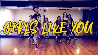 Maroon 5 - Girls Like You ft. Cardi B | Dance Cover | Andrew Heart choreography