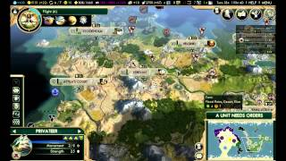civilization 5 brave new world the huns ep 36 rome taking over